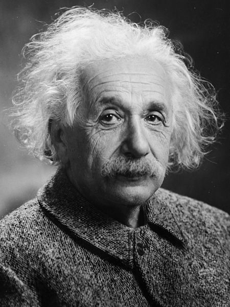 Portrait of Albert Einstein (1947). Photo via Wikimedia Commons under Creative Commons license.